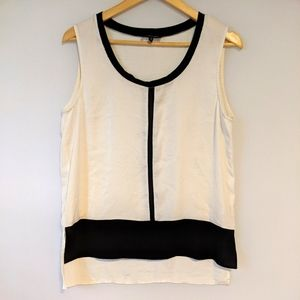 Kenneth Cole Black and White Top
